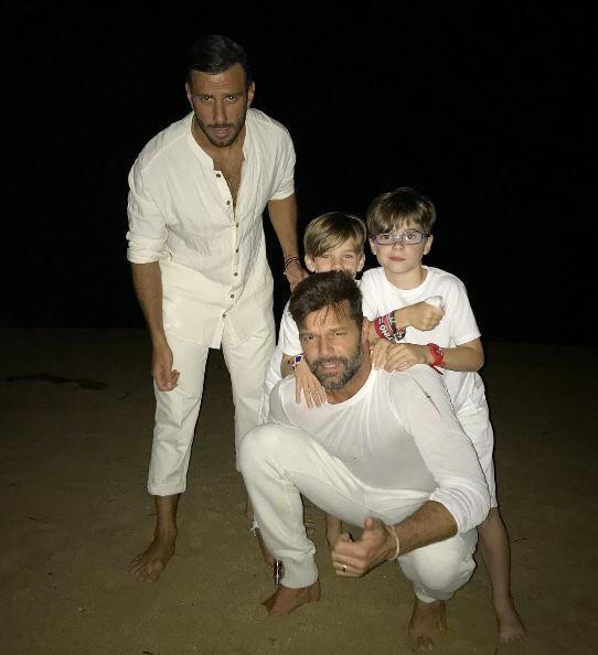 Ricky Martin hijos