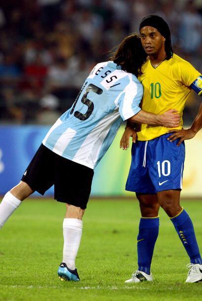 Lionel Messi ha declarado que Ronaldinho es uno de los futbolistas que s...
