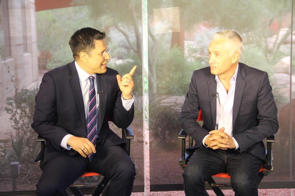 Jorge Ramos visita Univisión Arizona
