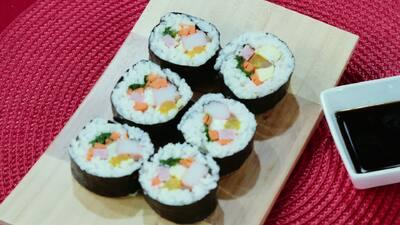 Kimbap, el sushi estilo coreano