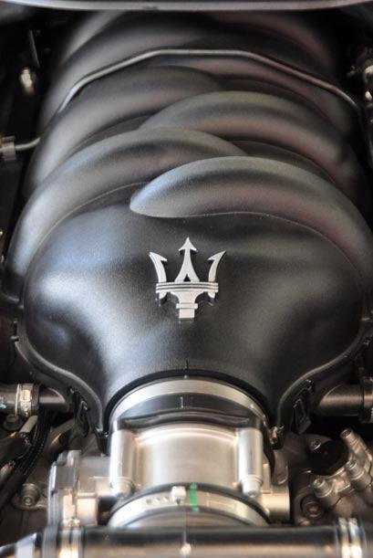 Su motor V8 genera 433 caballos de fuerza y una aceleración inicial de 0...