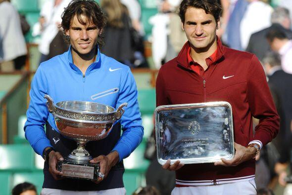 Para el segundo Grand Slam del año, el Abierto de Francia, Federer se la...