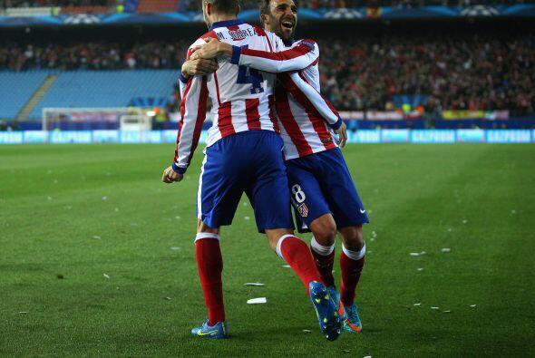 Atlético se mantenía en pie de lucha con el gol de Suárez, ya que con el...