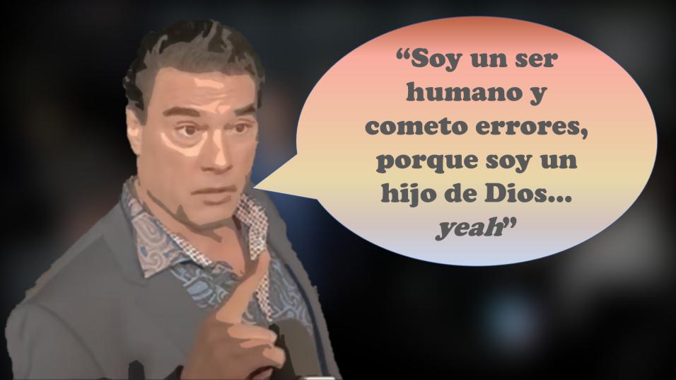 Las frases de Eduardo Yáñez durante sus disculpas en El Gordo y la Flaca...