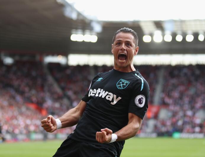 Premier League / Southampton 3-[2] West Ham: primeros goles de Javier Ch...