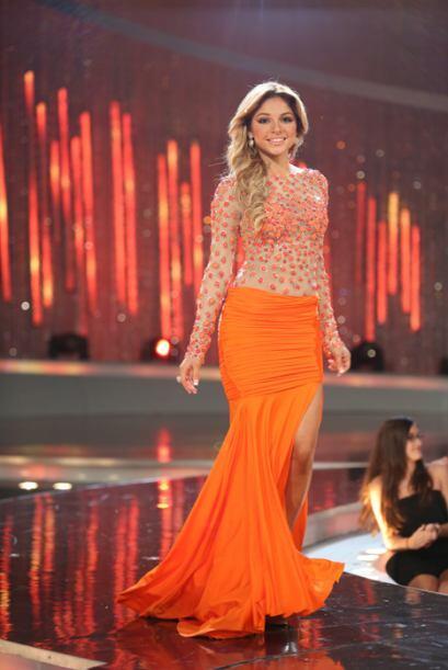 El naranja fue uno de los colores que le trajo mucha suerte a Josephine.