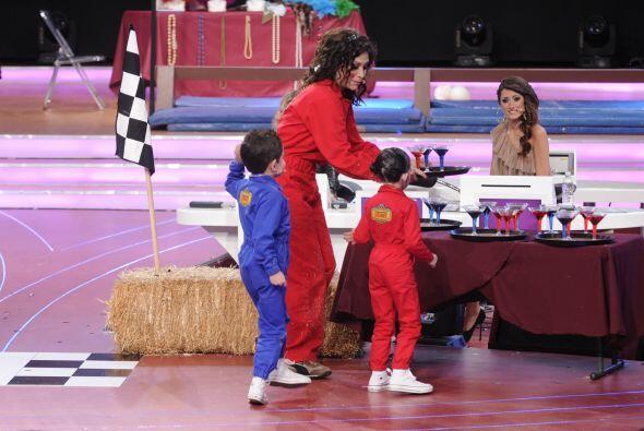 Saraí acompañó a Bianca durante la segunda etapa del reto que comenzaba...