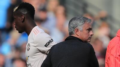 Nuevo round Mourinho vs. Pogba: El DT portugués regañó al francés frente a sus compañeros