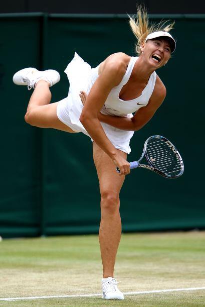 Y la rusa Maria Sharapova, quinta favorita.