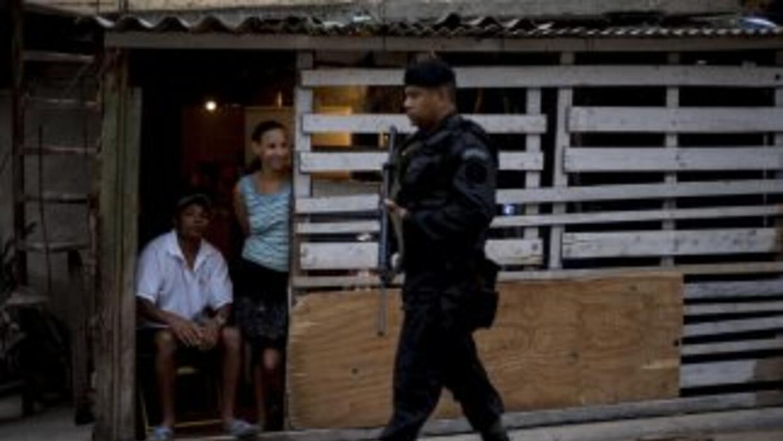 Diez minutos bastaron para que un grupo de uniformados brasileños tomara...