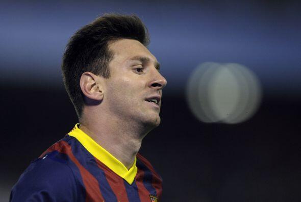 Se notaba ya un poco de desesperación en Messi.