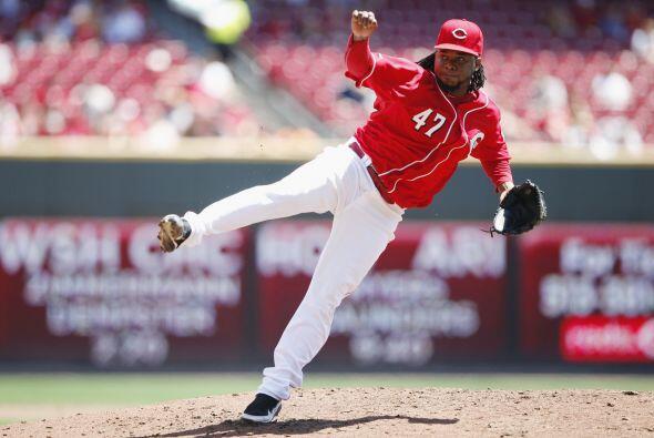 SP. Johnny Cueto. Rojos de Cincinnati. El dominicano tiene una marca de...