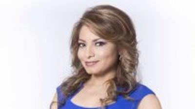 Ligia Granados reportera y presentandora del tiempo Univision Chicago.