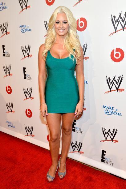 La canadiense Maryse Ouellet es una de las favoritas en la WWE. Verla ve...