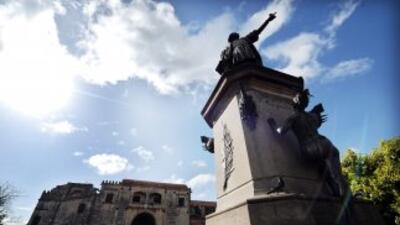 El también llamado Columbus Day, que es feriado en este país, se celebró...