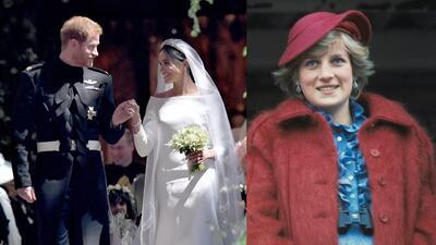 Con estos detalles Lady Di estuvo presente en la boda de Harry y Meghan