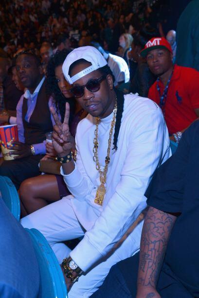El rapero Two Chains.