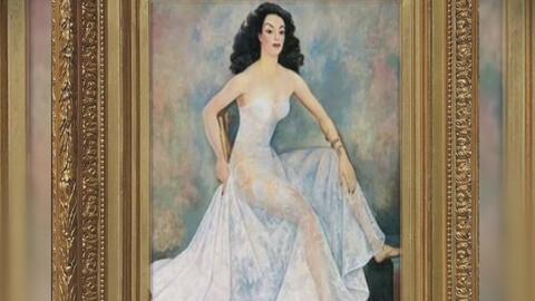 ¿Cuál es la verdadera historia detrás de la pintura de María Félix que t...
