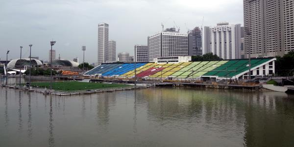 8. The Float Marina Bay Stadium, Singapore (Fútbol)