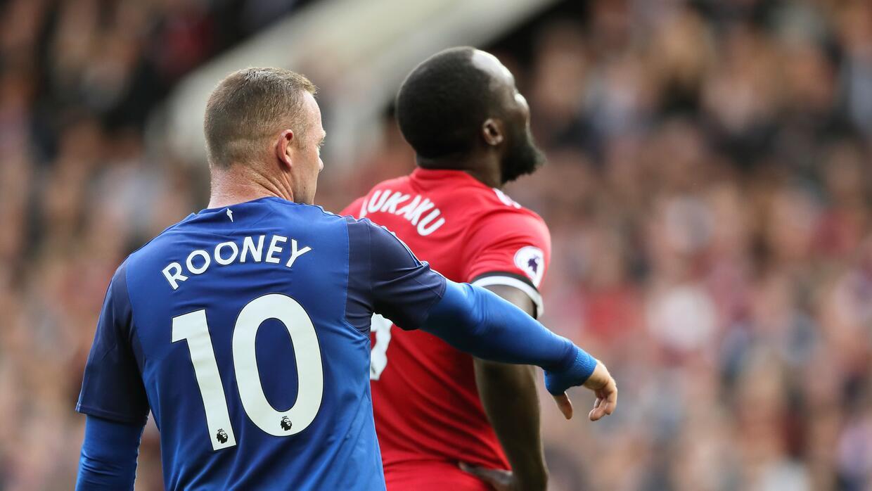 Romelu Lukaku, ex del Everton, se robó el show.
