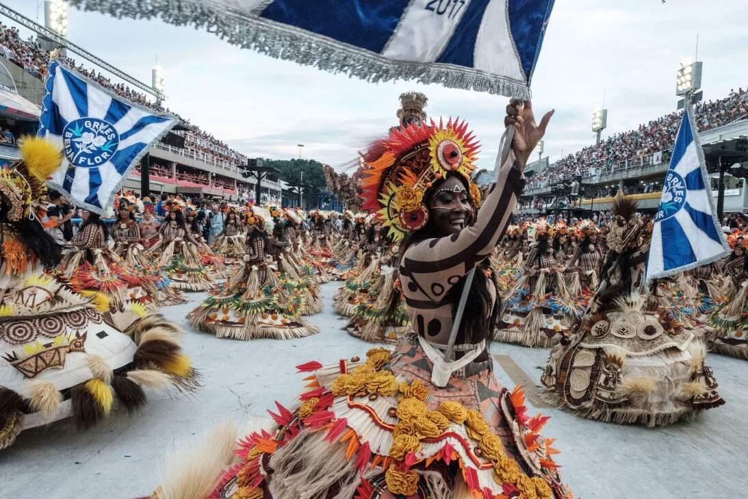 El carnaval de Brasil