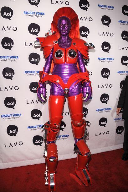 No es para menos, pues cuando se trata de disfraces la supermodelo no es...