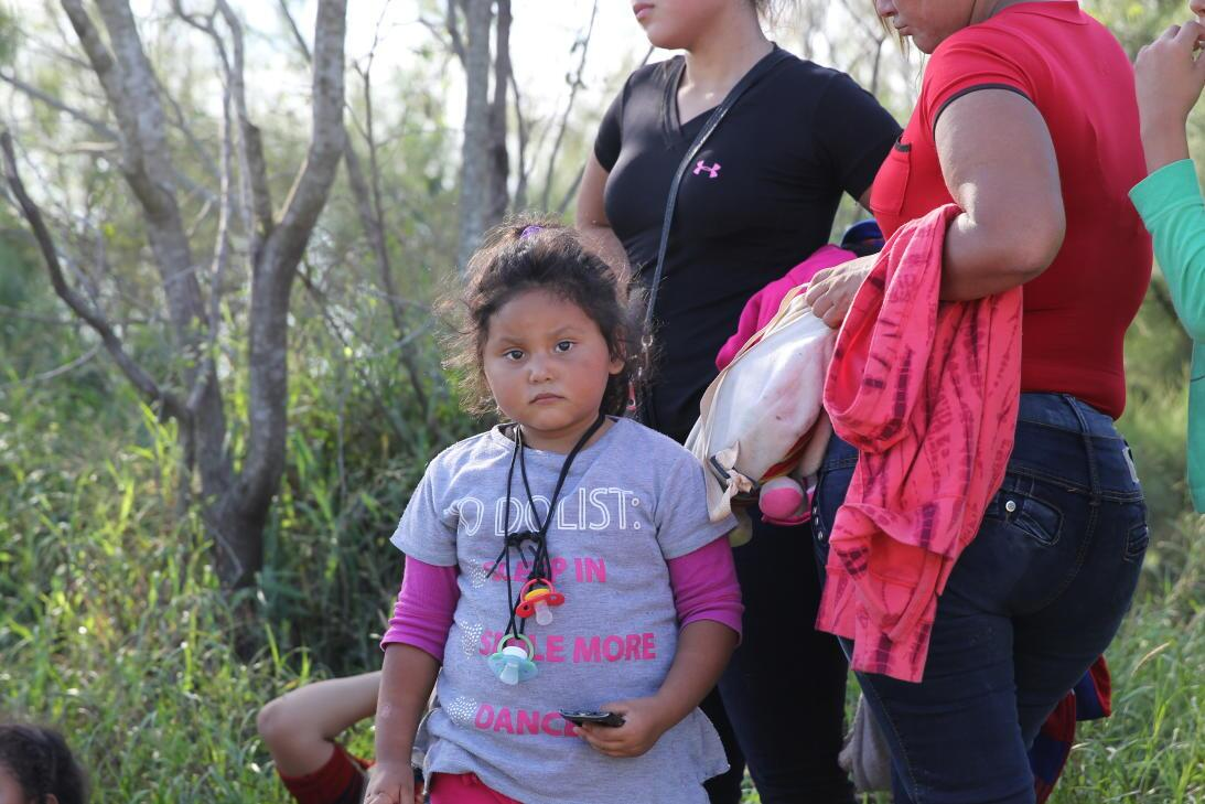 Arantza just arrived to Texas with her mother and sister from El Salvado...