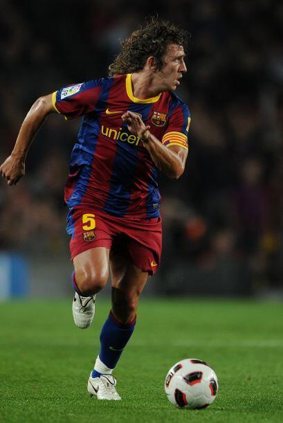 El eterno capitán 'culé' Carles Puyol, líder en todo sentido, se ha recu...