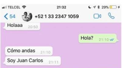 """""""Ni intentes inventarme algo"""": la respuesta de Geraldine Bazán a perturbadores mensajes que recibe por Whatsapp"""