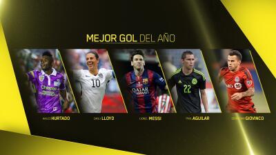 Nominados mejor gol del año Premios Univision Deportes