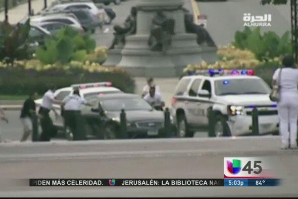 Momentos de pánico se vivieron cerca del Congreso y la Casa Blanca en Wa...