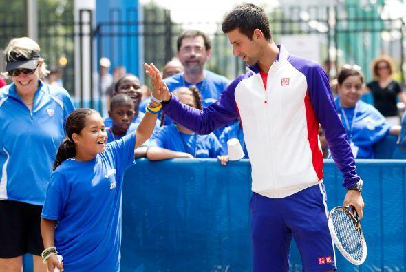 El tenista serbio número uno del mundo, Novak Djokovic, cumple 26 años d...