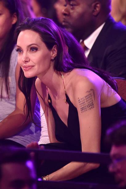 Jolie estaba nominada por su papel en 'Maleficent'.