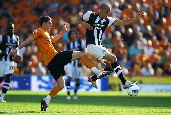 Wolverhampton recibió la visita del Newcastle.