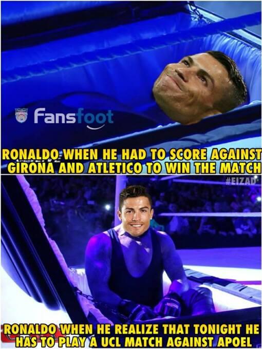 Real Madrid y CR7 golearon en la Champions y en los memes 23795649-18598...