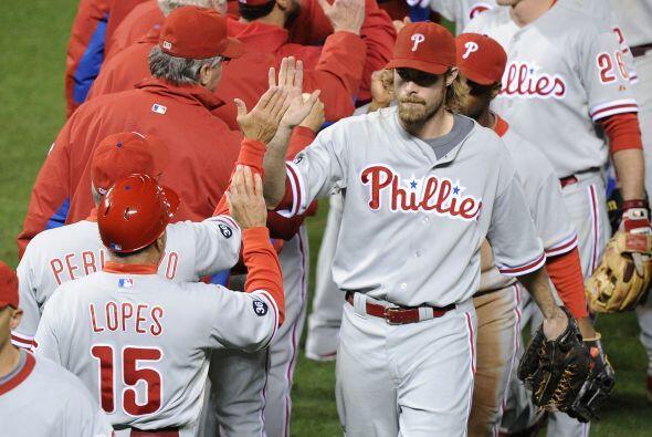 Con el triunfo por marcador de 4-2, los Phillies regresan a casa, donde...