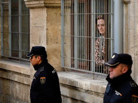 La infanta Cristina explicó durante seis horas y media de declara...