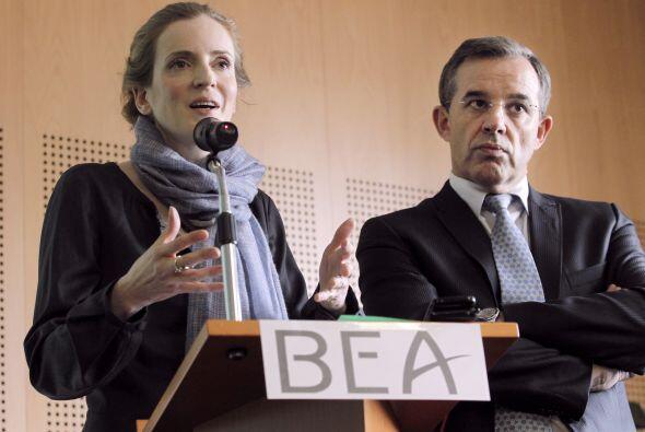 La cuarta fase de búsqueda lanzada por el BEA abarca una zona de 10,000...