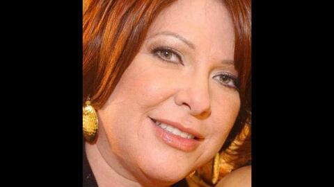 La cantante Mayra Mayra