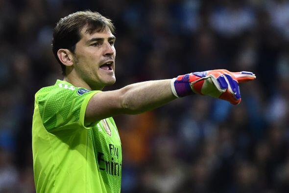 En la posición número 15 se encuentra el portero del Real Madrid, Iker C...