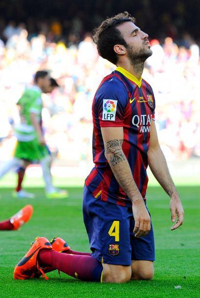 Fábregas juega en el Chelsea y en la selección española.