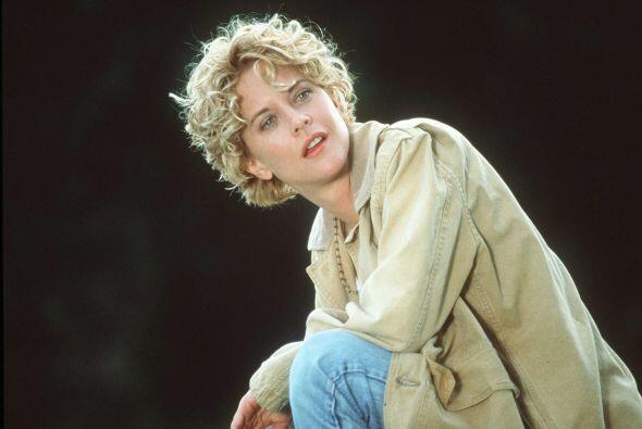 6. Meg Ryan revolucionó los noventa con su corte desmelenado