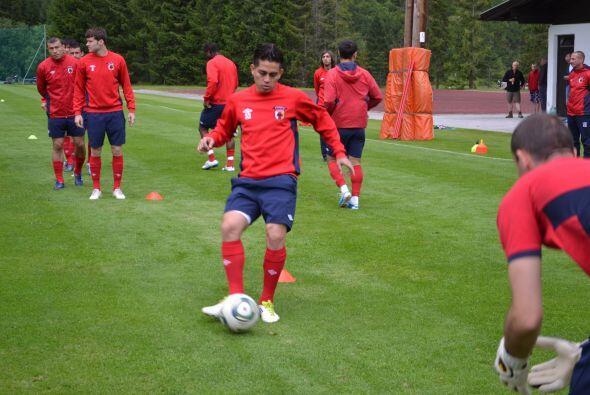 Rodolfo Zelaya ya vivió su primer entrenamiento como jugador del...