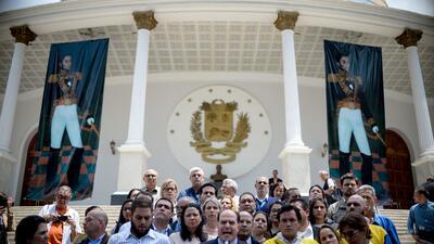 Julio Borges, presidente de la ANV, denunció este jueves que el presiden...