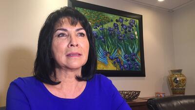 La nutrióloga Elizabeth González-Gann una hispana influyente que da espe...