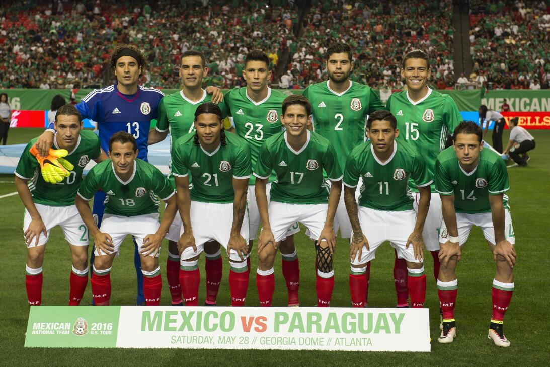 Pura nostalgia: así ha sido el paso del tiempo de la selección de México...