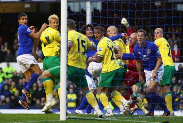 Norwich City comenzó ganando, de visitante, ante un Everton que arrancó...