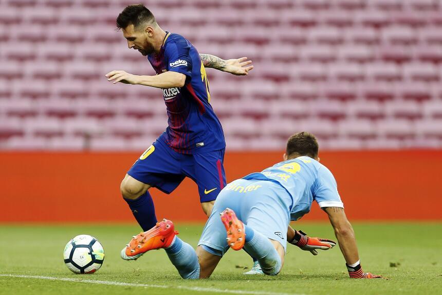 El Barça goleó a Las Palmas, en un Camp Nou sin público 6364247737845939...