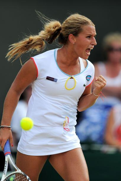 Sharapova afrontará en cuartos a la verdugo de Wozniacki, la eslo...