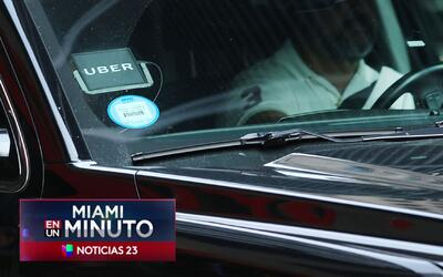 'Miami en un Minuto': conductor de Uber graba el momento en el que un ag...